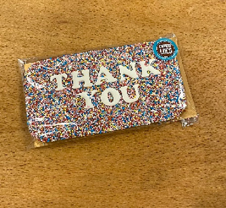 Choco Loco 'Thank You' Chocolate Message Gift Bar