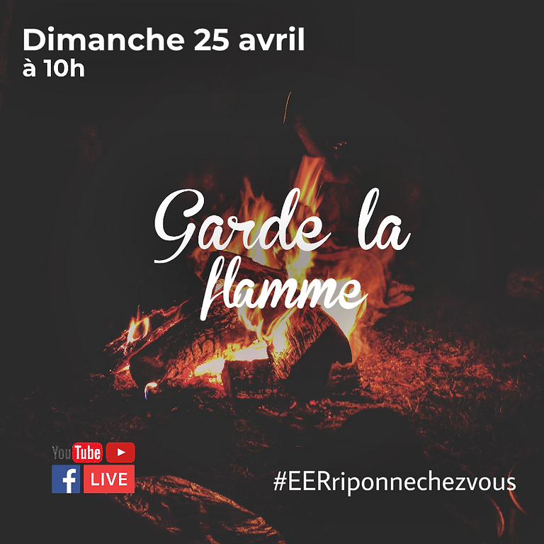 Culte in Live de l'EER Lausanne/ Riponne