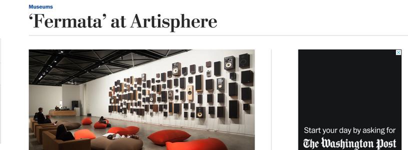 Washinton Post: 'Fermata' at Artisphere