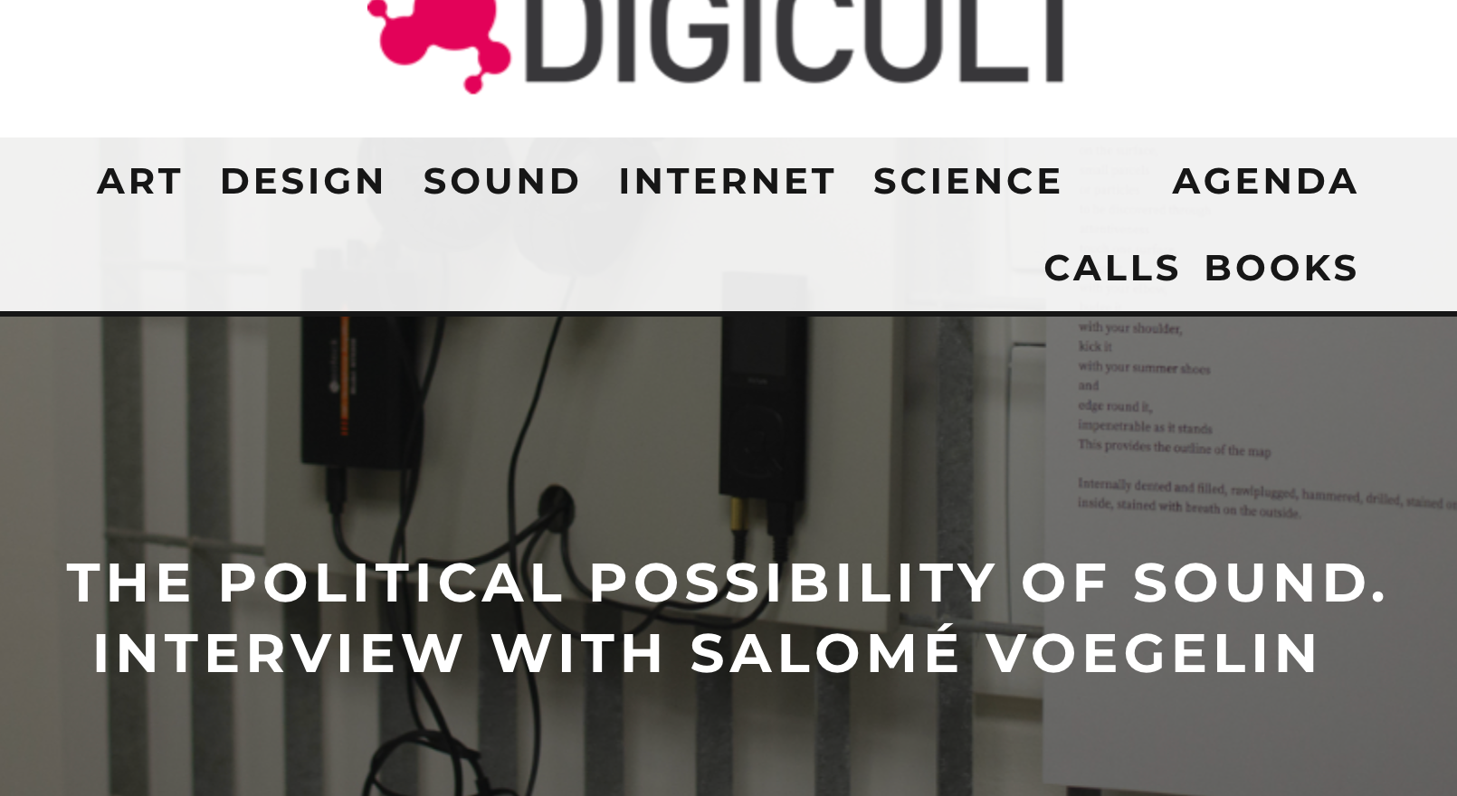 Digicult: The Political Possibility of Sound
