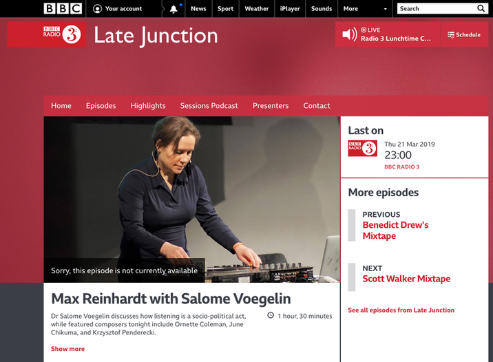 BBC 3: Late Junction