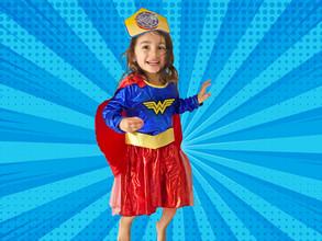 Super Girl! Wonderful!