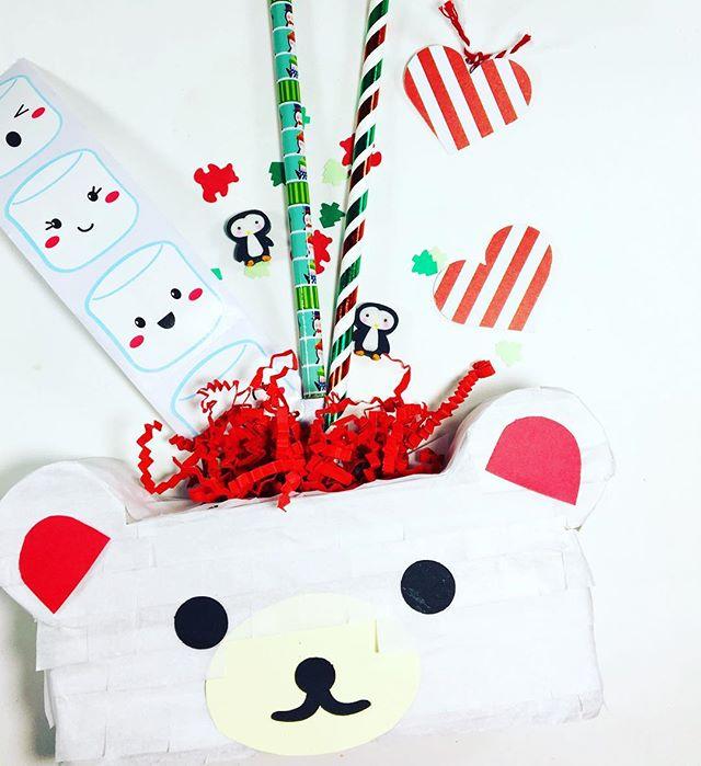 Mini piñata are ready for the holidays