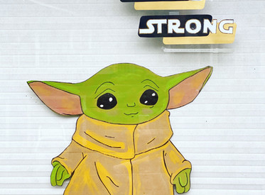 Stay Strong: Baby Yoda