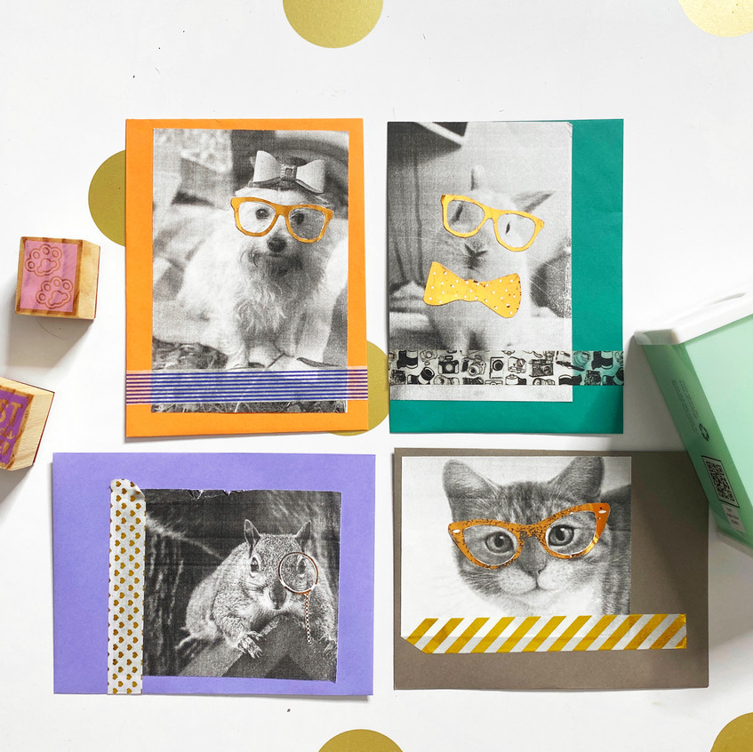 Washi Tape & Stamps
