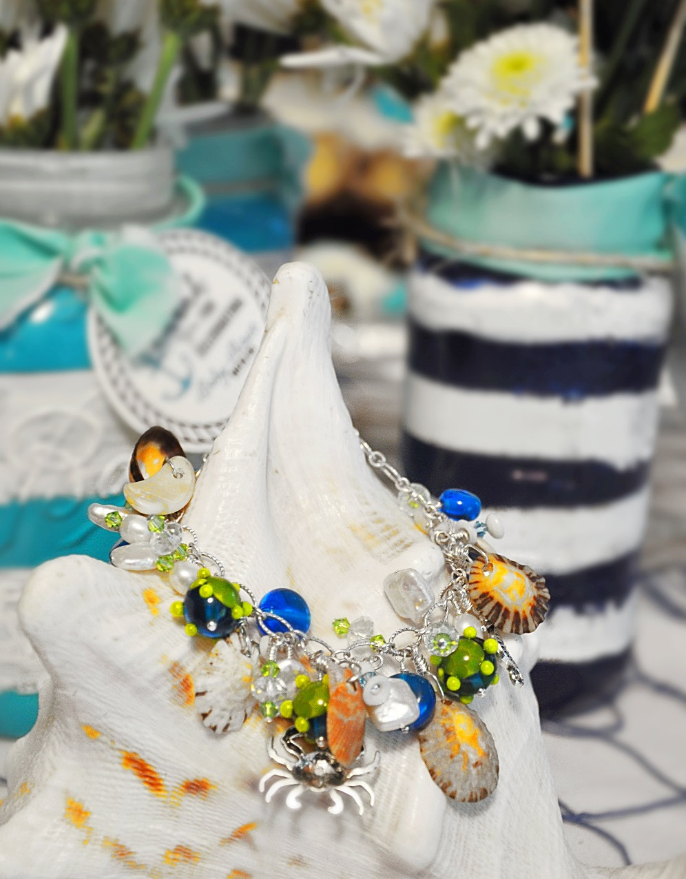The Blue Puffin Bracelet