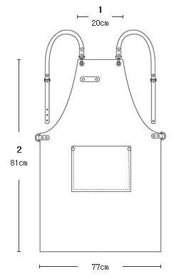 Apron layout from Pinterest