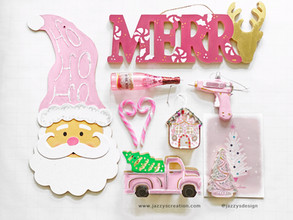 Painting a Pink Christmas