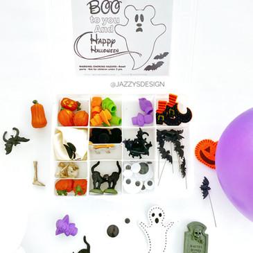 DIY Boo Halloween Kit