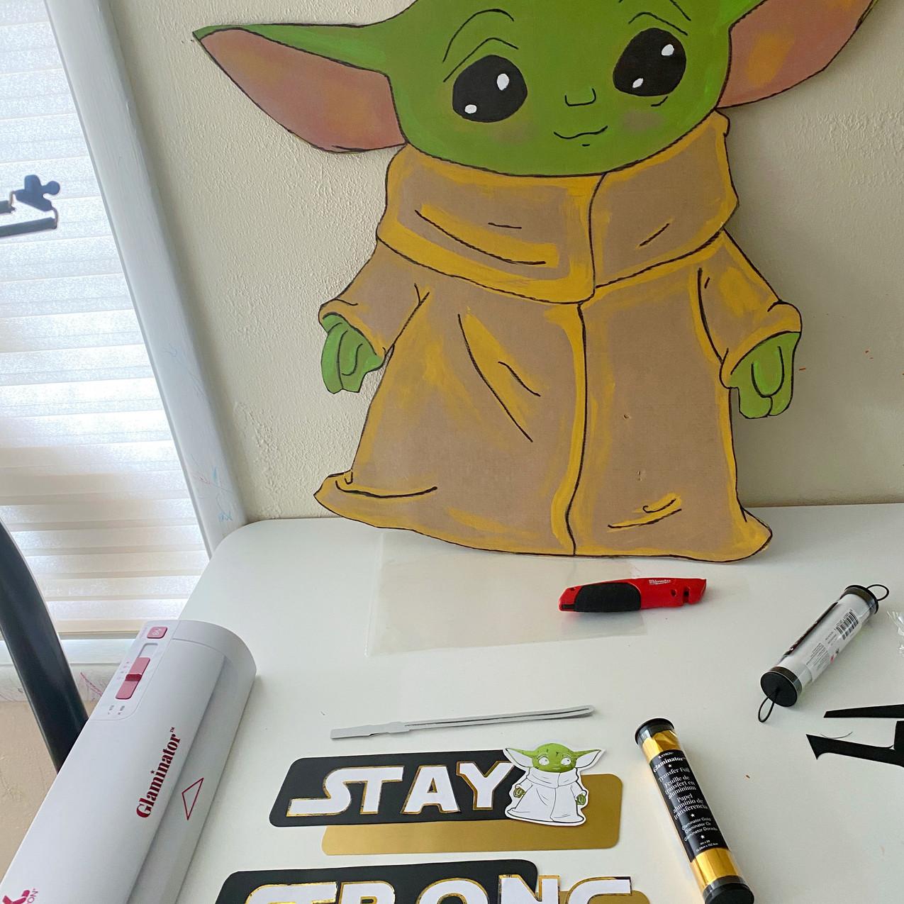 Yoda Window Ary