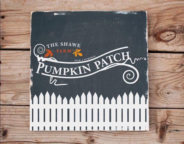 fence pumpkin