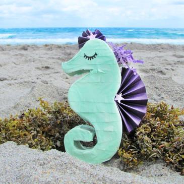 Beach Party with Mini Seahorse