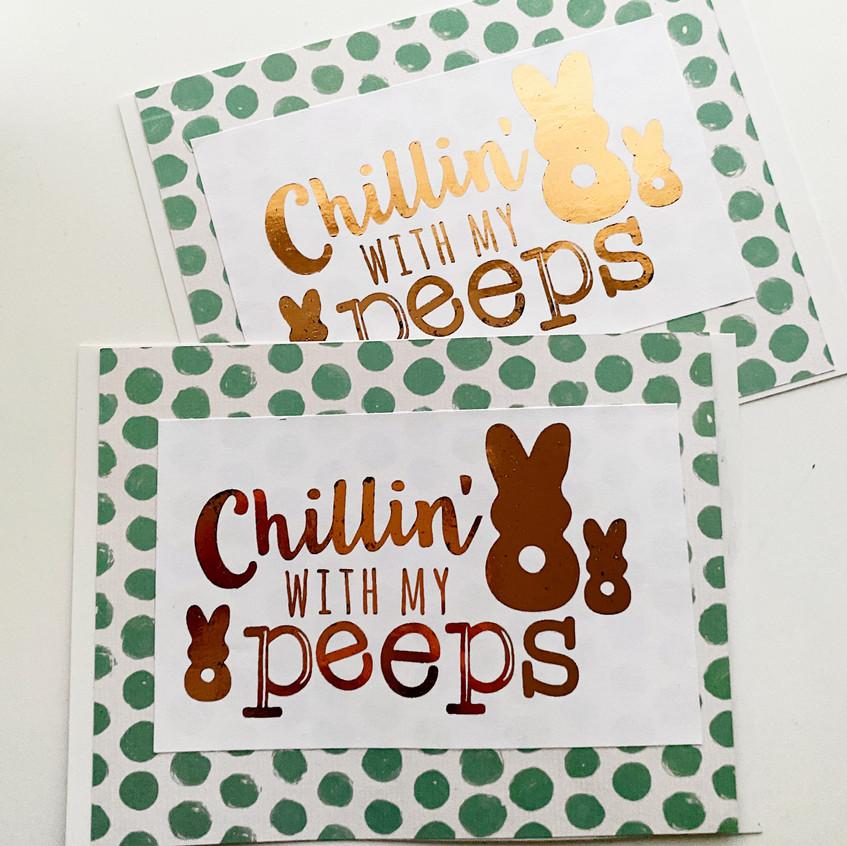 Peeps Card