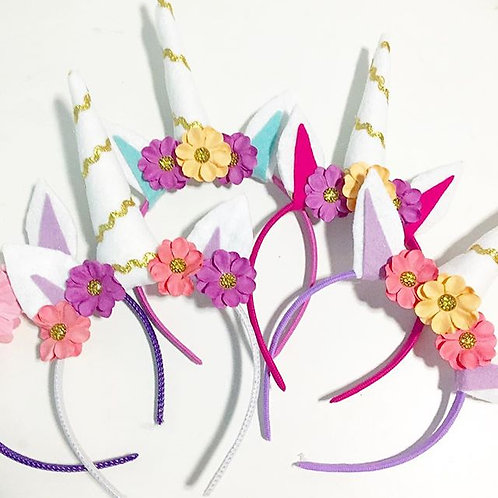 1 Felt Unicorn Headband