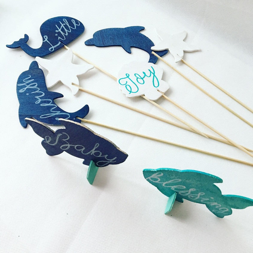 Painted Sea Creatures