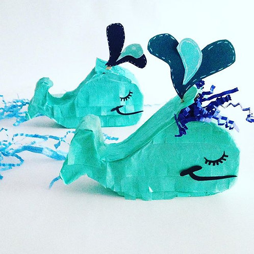 Mini Whale Piñata