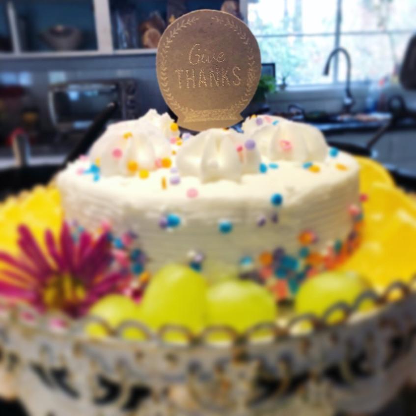 Embossed Cake Topper