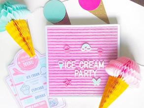Ice Cream Party Decorations Ideas