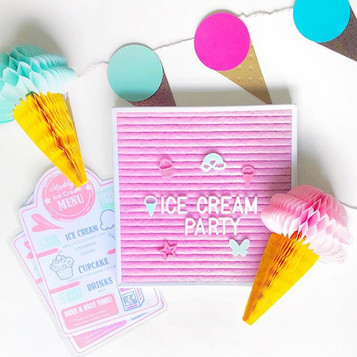 Ice Cream Party Decorations Ideas