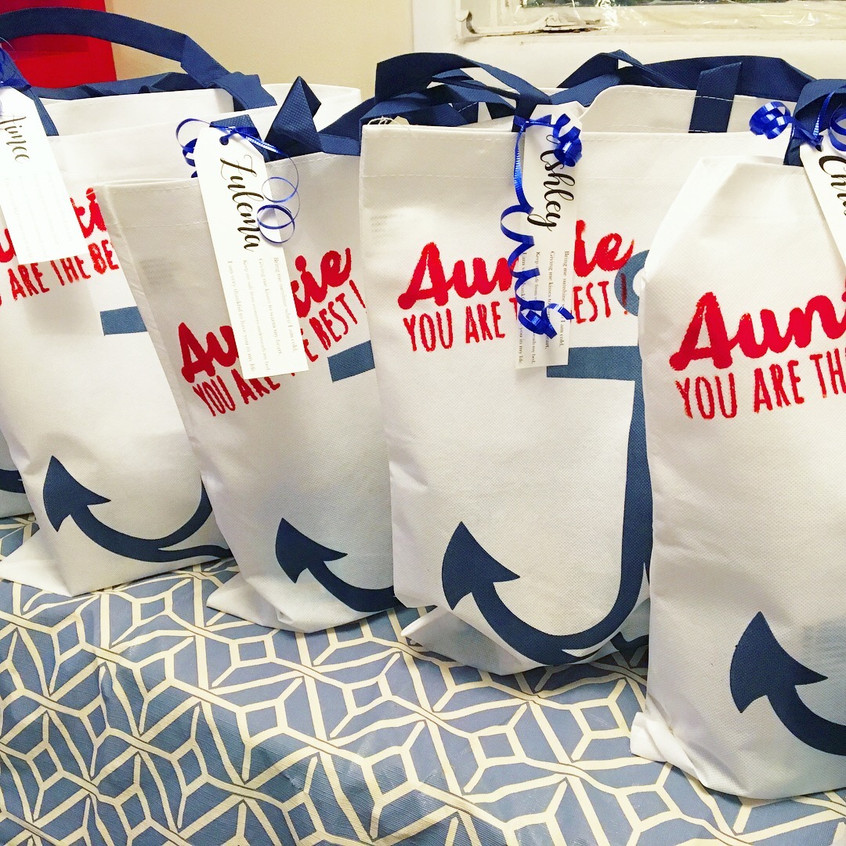 Anchor Bags as favors