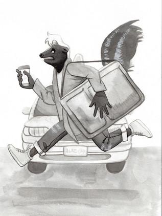 Day 2 - Skunk