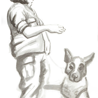 Soldier and Dog 2