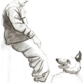 Soldier and Dog 3