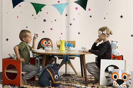Small-Design i Ferm Living, børnemøbler, børnestol