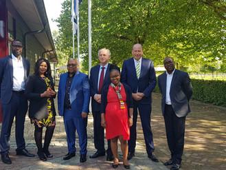 Richards Bay Industrial Development Zone delegation visits NAFTC-Africa