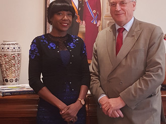 Chad's Honorary Consul to the Netherlands visits NAFTC-Africa and QuaTerNes Group