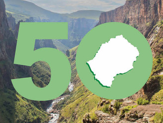 Lesotho celebrates 50 years independence with NAFTC Africa!
