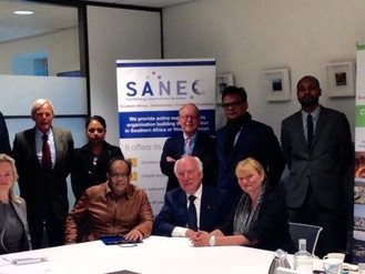 Delegation from Mauritius looking for cooperation with SANEC-NAFTC