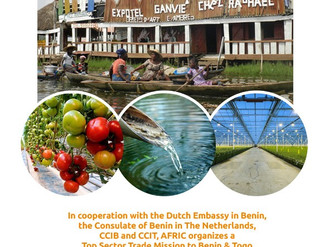 NAFTC Africa supports Agriculture, Water & Energy Top Sector Trade Mission to Benin and Togo