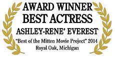 ashley-rene everest, best actress, message, river pearl award, silent river film festival