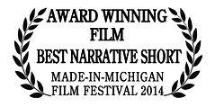 skip erickson, message, award winning, best narrative short, made-in-michigan film festival, michigan film