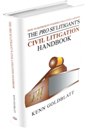 The Pro Se Litigant's Civil Litigation Handbook/Hardcover