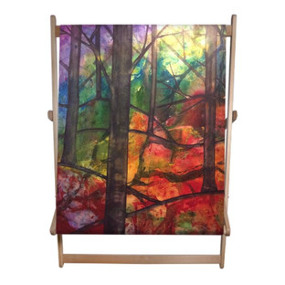 Forest of Life Double Deckchair