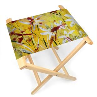 Daisy Flower Folding Stool Chair