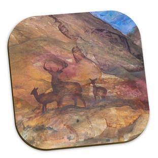Highland Deer Coasters