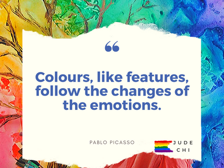 The power of Colours - Blue