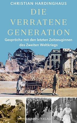 Buchcover - Die verratene Generation (1)