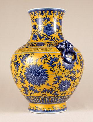 Porcelain Lobed Vase