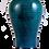 Thumbnail: Fa Hua Blue Glazed Mei-Pi Vase