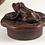 Thumbnail: Fish Motif Teapot with Frog Cap