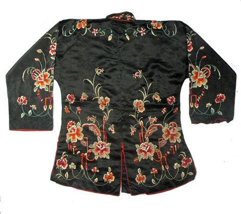 Antique Festive Chinese Silk Jacket