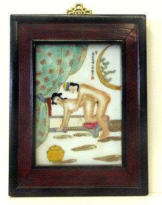 Erotic Ceramic Painting