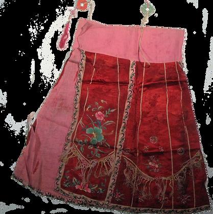 Festive Silk Skirt
