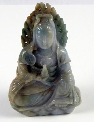 Chinese Jadeite Kuan Yin