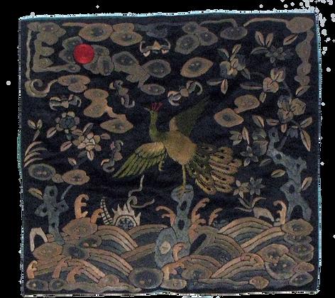 Peacock Rank Badge