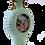 Thumbnail: Celadon Porcelain Moon Flask Vase